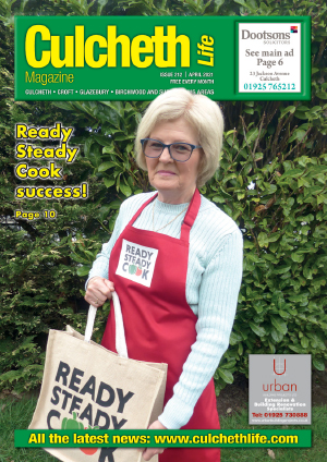 Culcheth Life Magazine April 2021 Cover